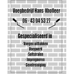 Voegbedrijf Hans Xhofleer